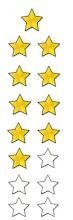 10 lbs Stars