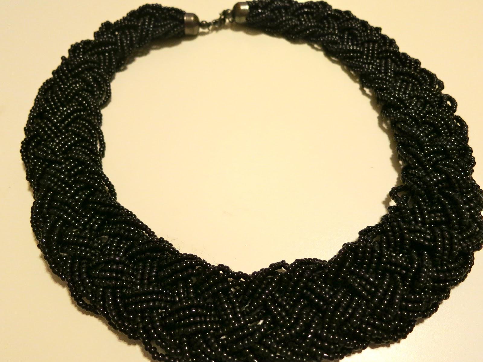 Dianne Creates DIY Gold Bib Necklace - Diy braided necklace