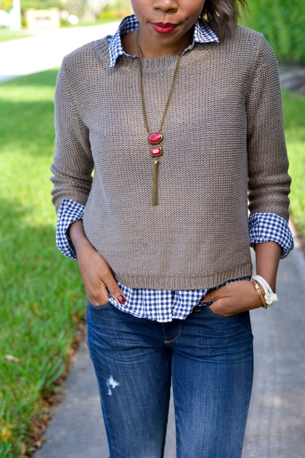 Fall Outfit Ideas with Zappos | Paige Denim & Free Bird Boots