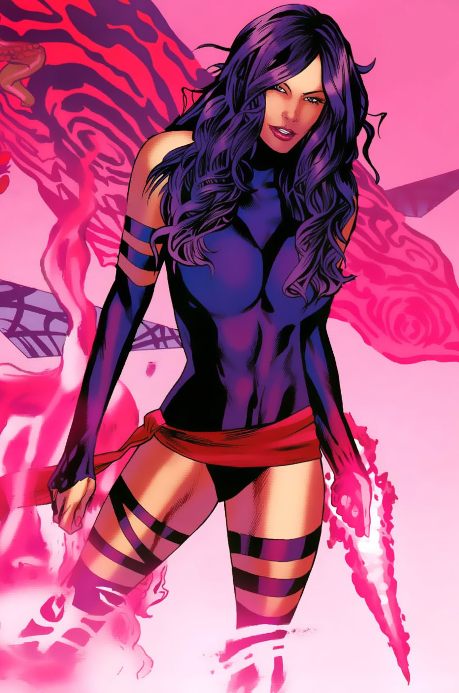 Courtney Baird Psylocke Wallpaper
