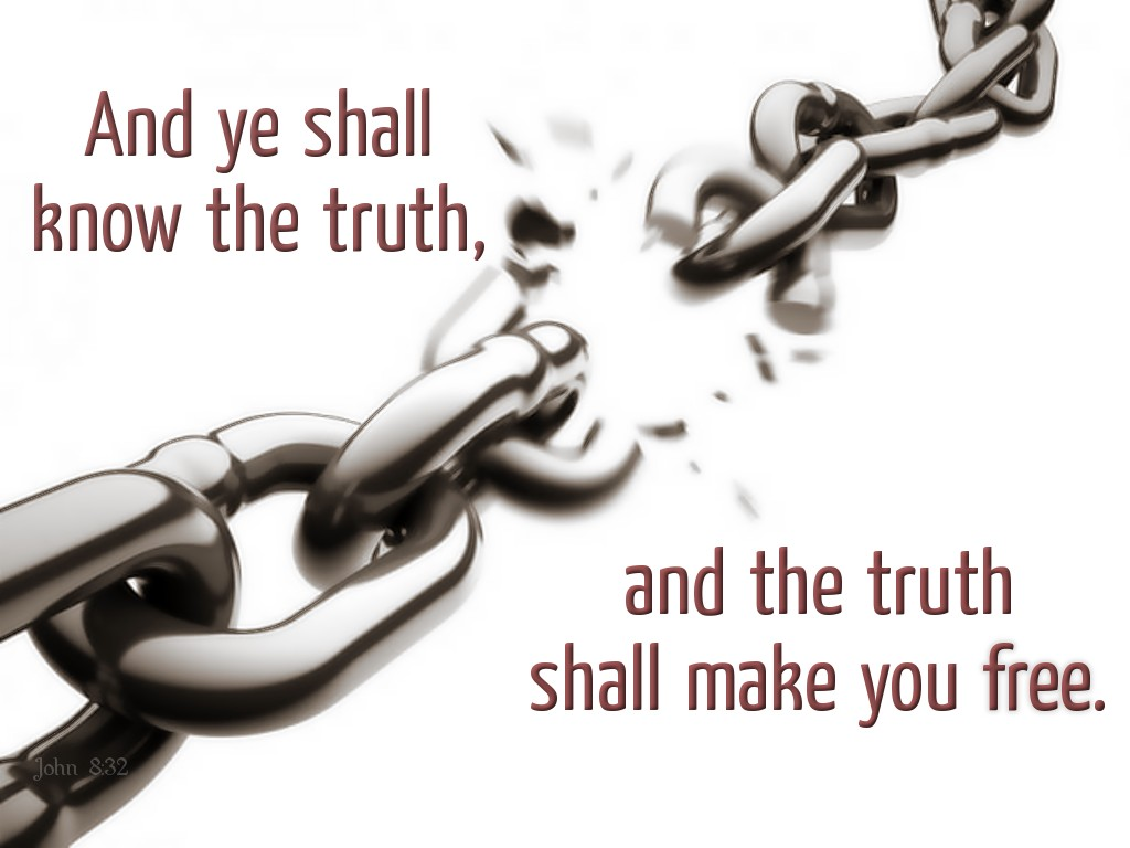 the truth will set you free essay This article tells more about who said, and the truth shall set you free this biblical passage can be found in john 8:32.