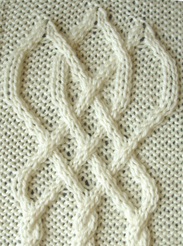 Celtic Knot Knitting Chart : Ivanova and carter knit celtic knot