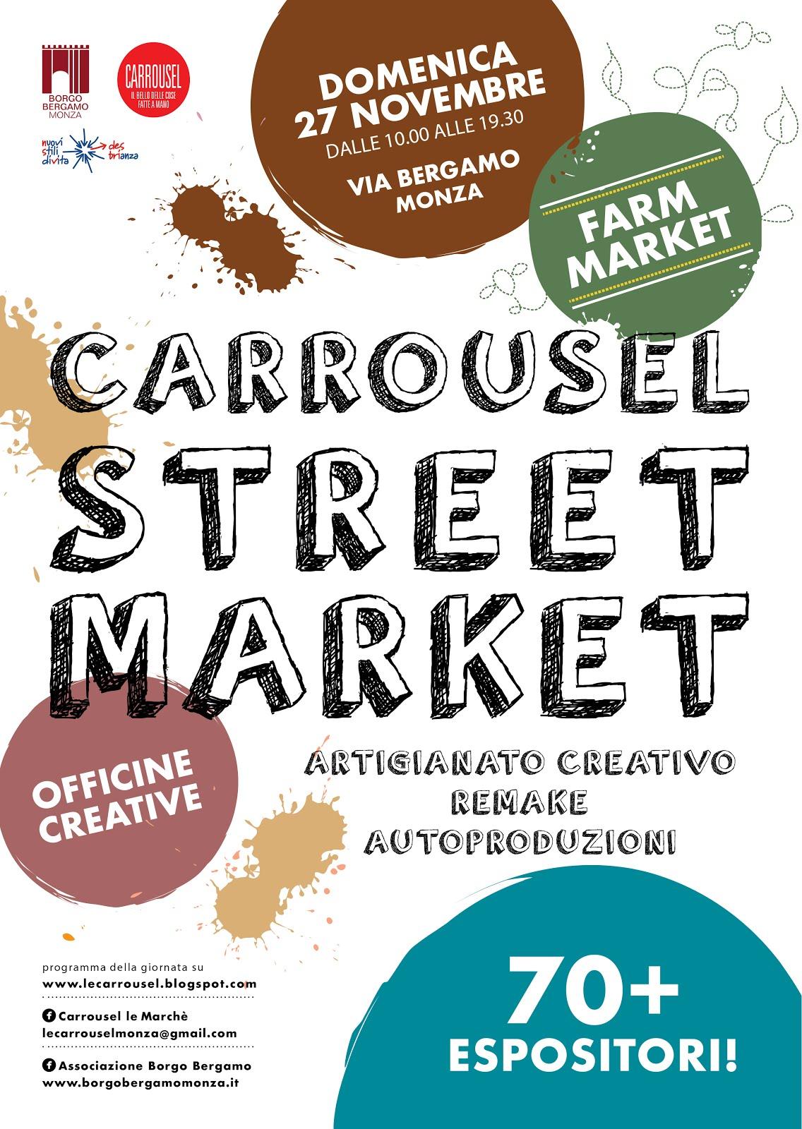 StreetMarket e FarmMarket per la prima volta insieme
