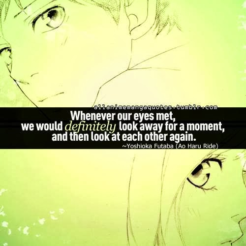 my thought romantic anime quotes