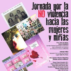 19 de noviembre Perú 160 18 hs No a la violencia de género