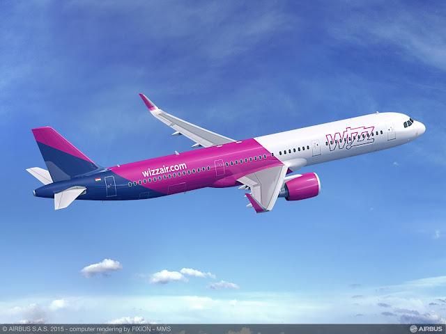 É MAIS QUE VOAR   PARIS AIR SHOW 2015   Wizz Air encomenda 110 aeronaves A321neo