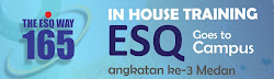 In House Training ESQ Goes To Campus ke-3 Medan