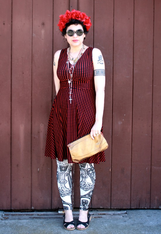 Outfit Post: The Girl in the Mosaic