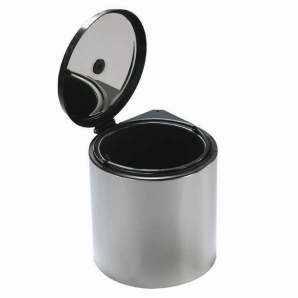 Cubo ecologico circular paprika inox
