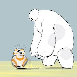 Baymax y BB-8 :)