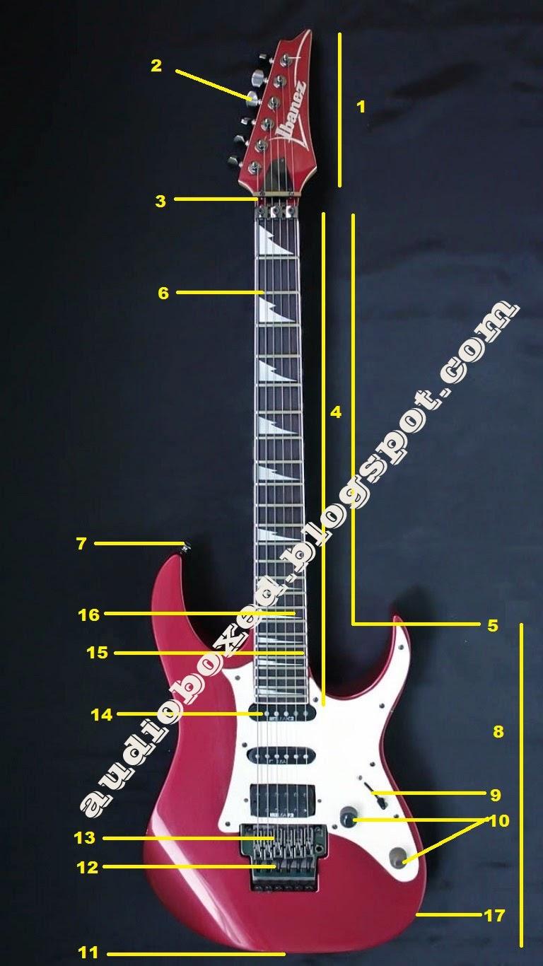 Bagian Gitar Elektrik Lengkap Nama Dan Fungsi Audio