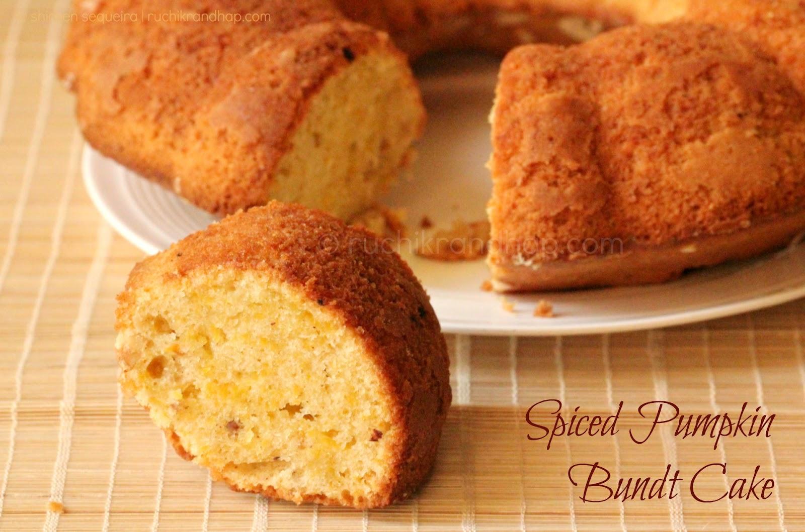 Pumpkin Bundt Cake Recipe Real Pumpkin