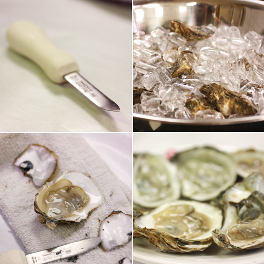 how to clean oysters before cooking