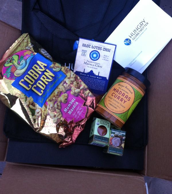 Hungry Globetrotter Review - September 2012 - Food Subscription Boxes - Plus 50% Off First Box!