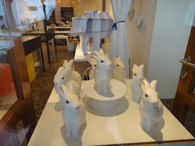 Cute Bunnies on display at Telok Ayer Shophouses Singapore