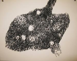 Fusain / papier 32x41 2011