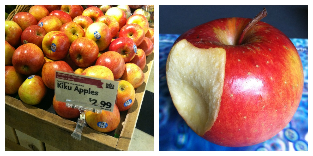 Kiku Apples Whole Foods