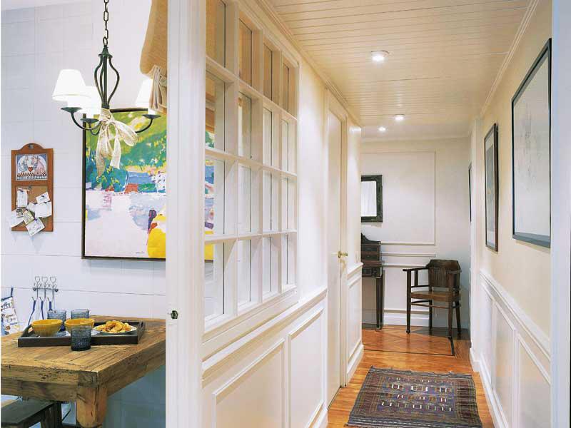 Observa y decora cuarterones bienvenidos de nuevo - Fotos de pasillos decorados ...