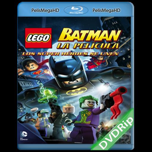 LEGO Batman: La Película – Los Súper Héroes se Unen (2013) DVDRip Español Latino