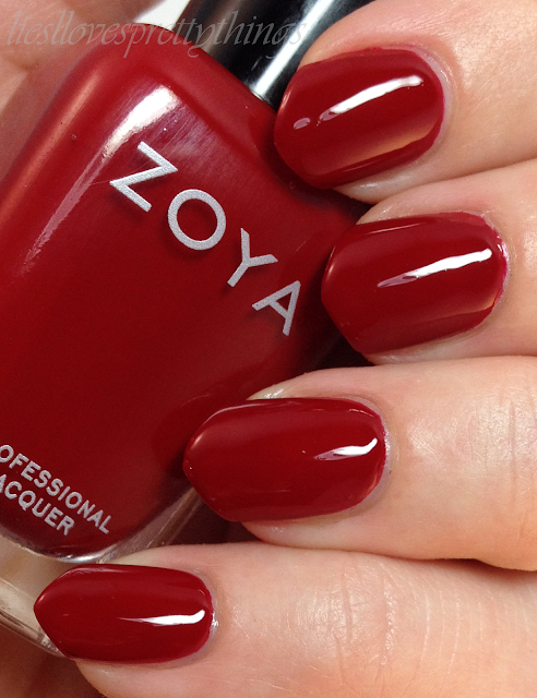 Zoya Rekha swatch and review