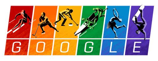 Google Doodle Winter Games