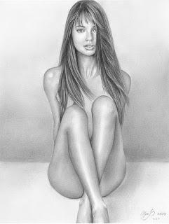 Desnudos Femeninos Dibujos Lapiz