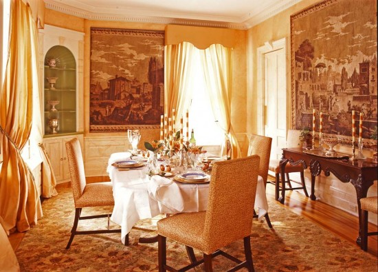 Victorian House Interiors Dream House Experience: victorian dining room colors