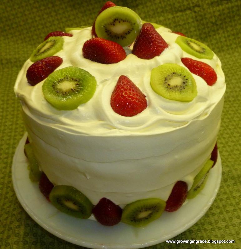 Angel Food Cake Strawberry Glaze Cool Whip