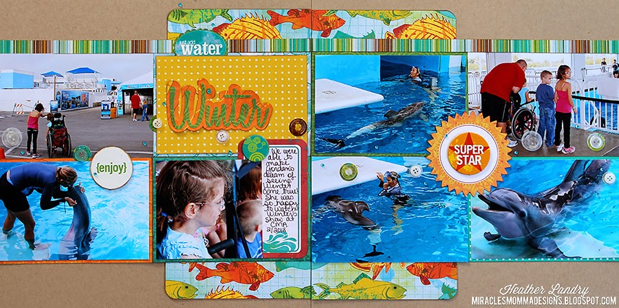 Clearwater Marine Aquarium_Winter_Scrapbook Page