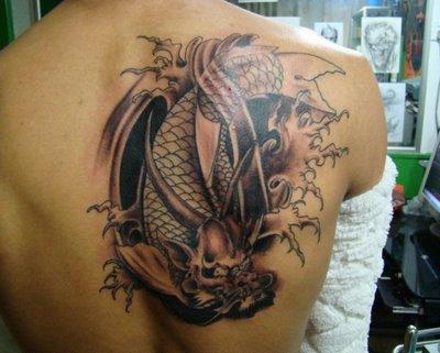 ... Simbol tato naga ini juga memperlihatkan kekuatan dan keganasan naga