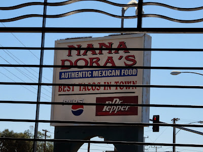 Nana Dora's (Brawley, California) Sign