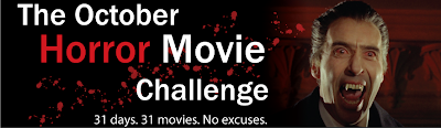 October Challenge Banner Dracula Prince of Darkness