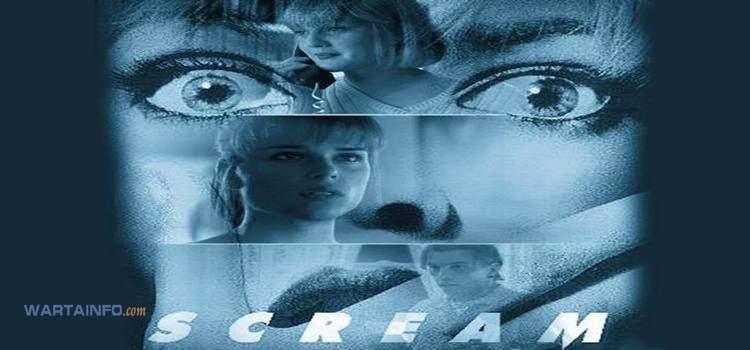 poster Scream Film Horor terseram terbaik menegangkan sepanjang masa