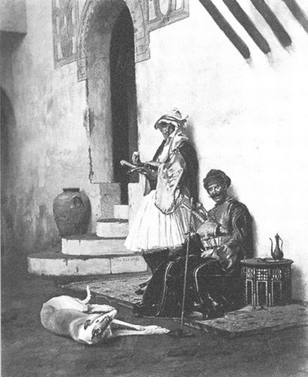 Albanais et Leur Chien