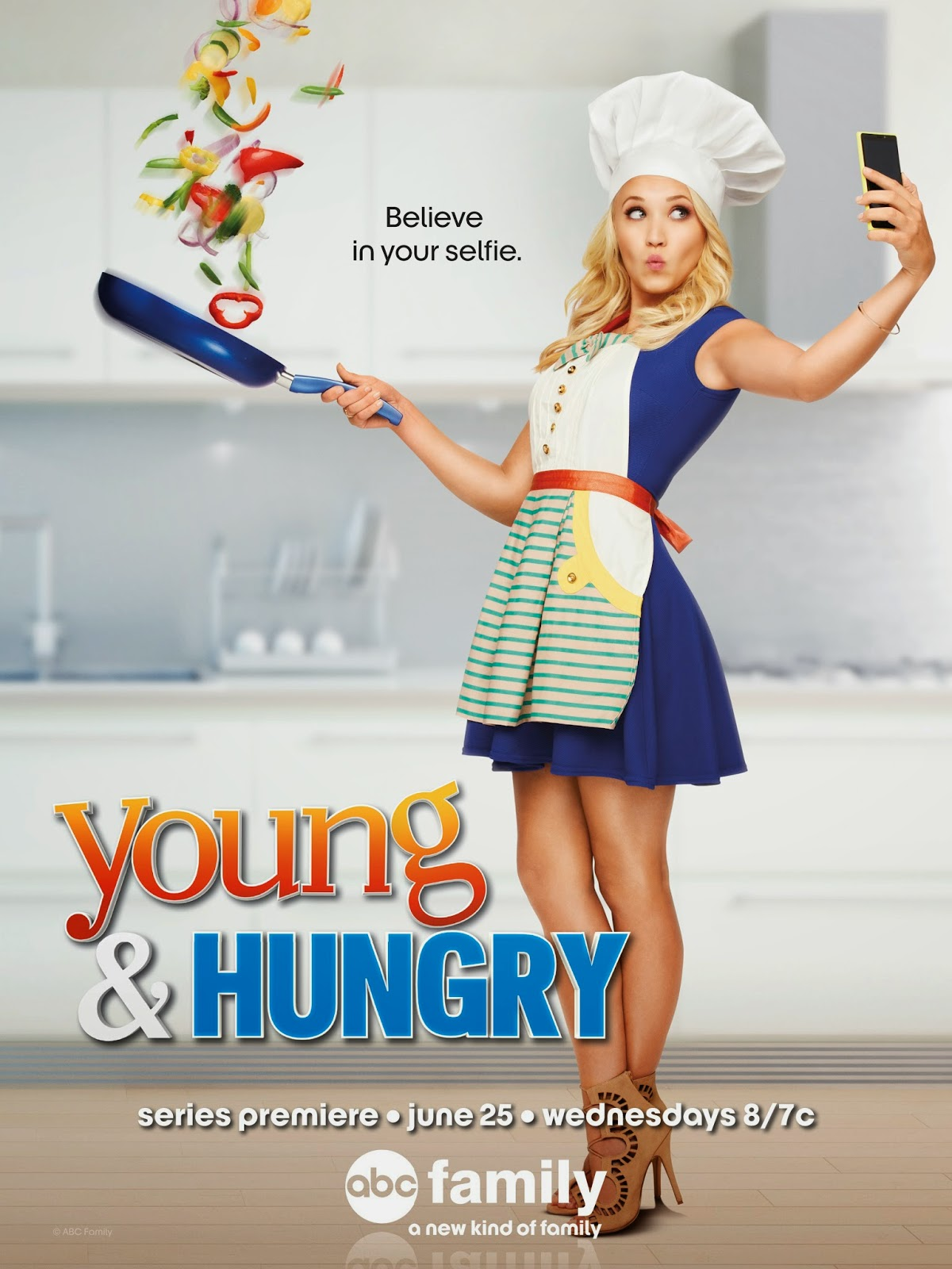 Young adn Hungry key art