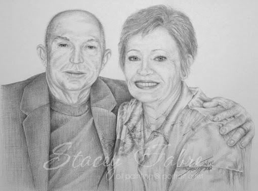 Portrait of Shirleys Parents