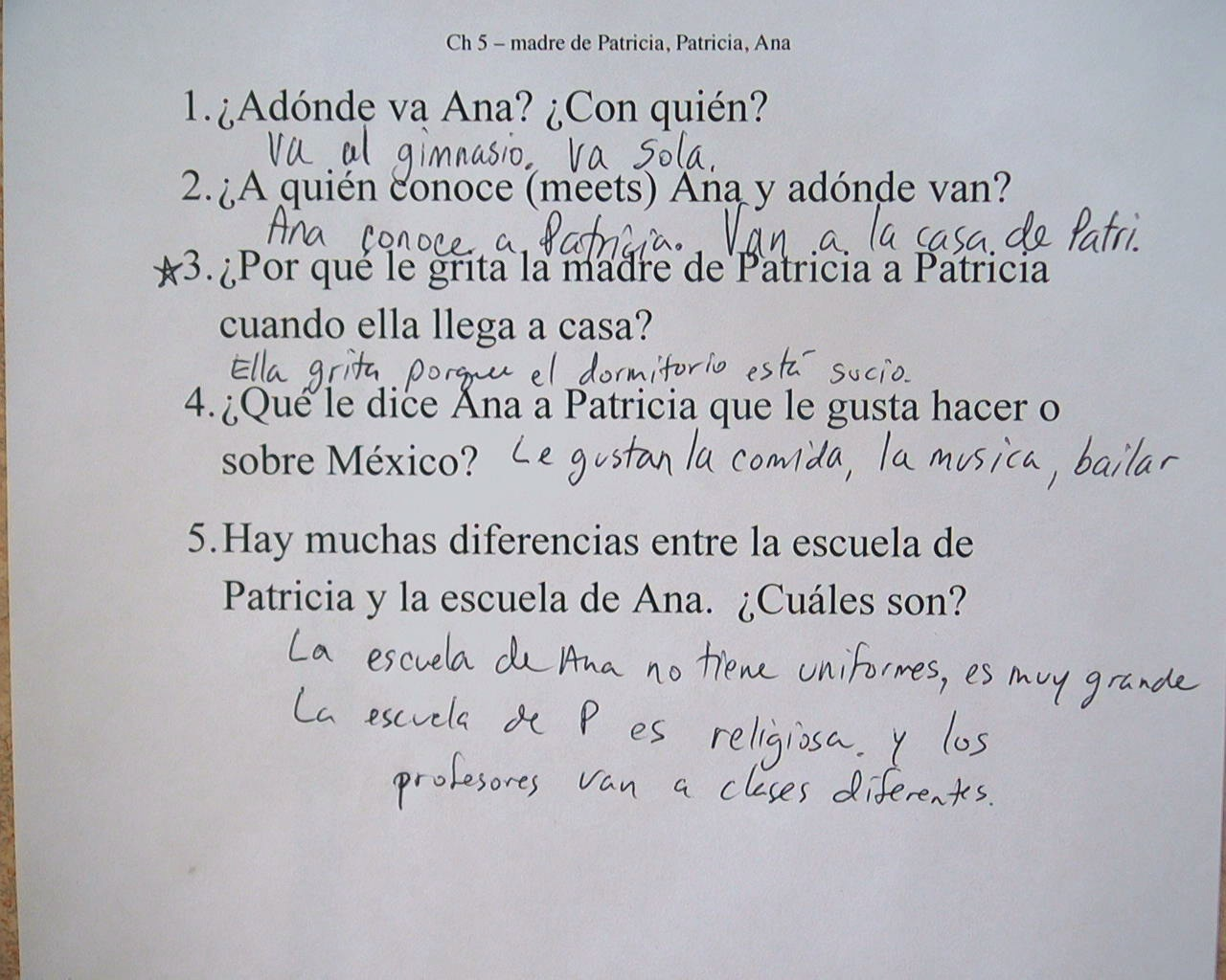 worksheet Pobre Ana Worksheets pobre ana answers related keywords suggestions we read chapter 5 the discussion questions are posted