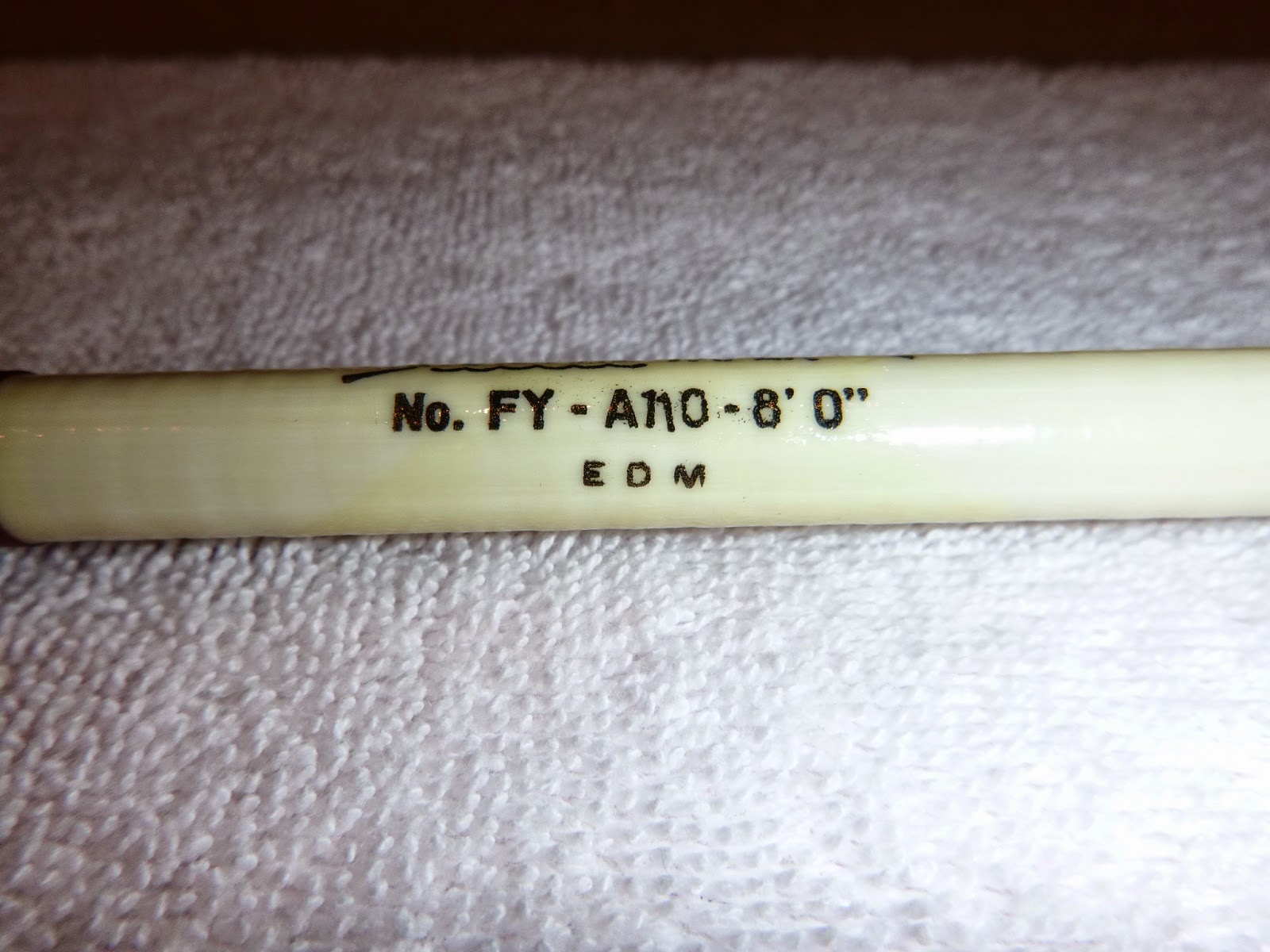 Numbers Letters On Shakespeare Fishing Rods