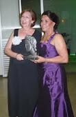 Recebendo Prêmio Cecilia Meireles
