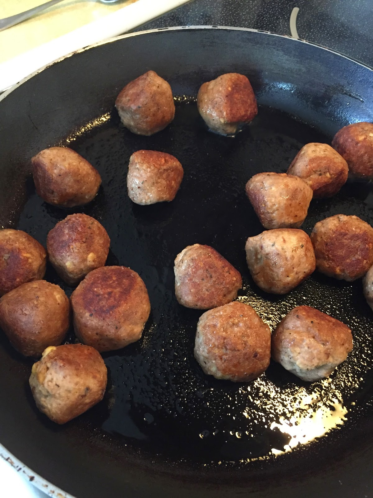 Sweet-and-Sour Party Meatballs - Chloe's Kitchen