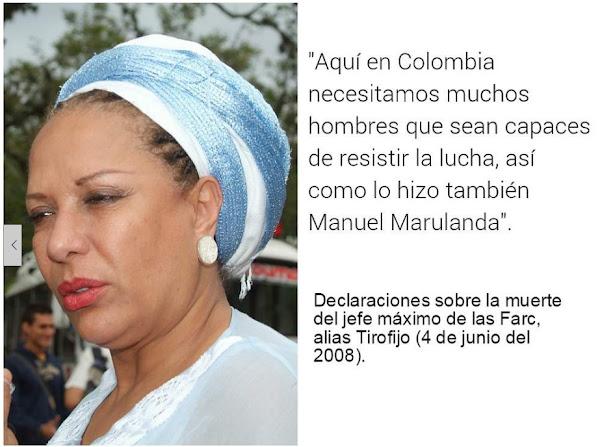 Piedad Córdoba y Marulanda Vélez