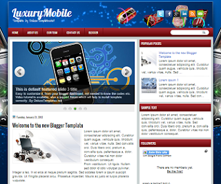 LuxuryMobile+Blogger+Template