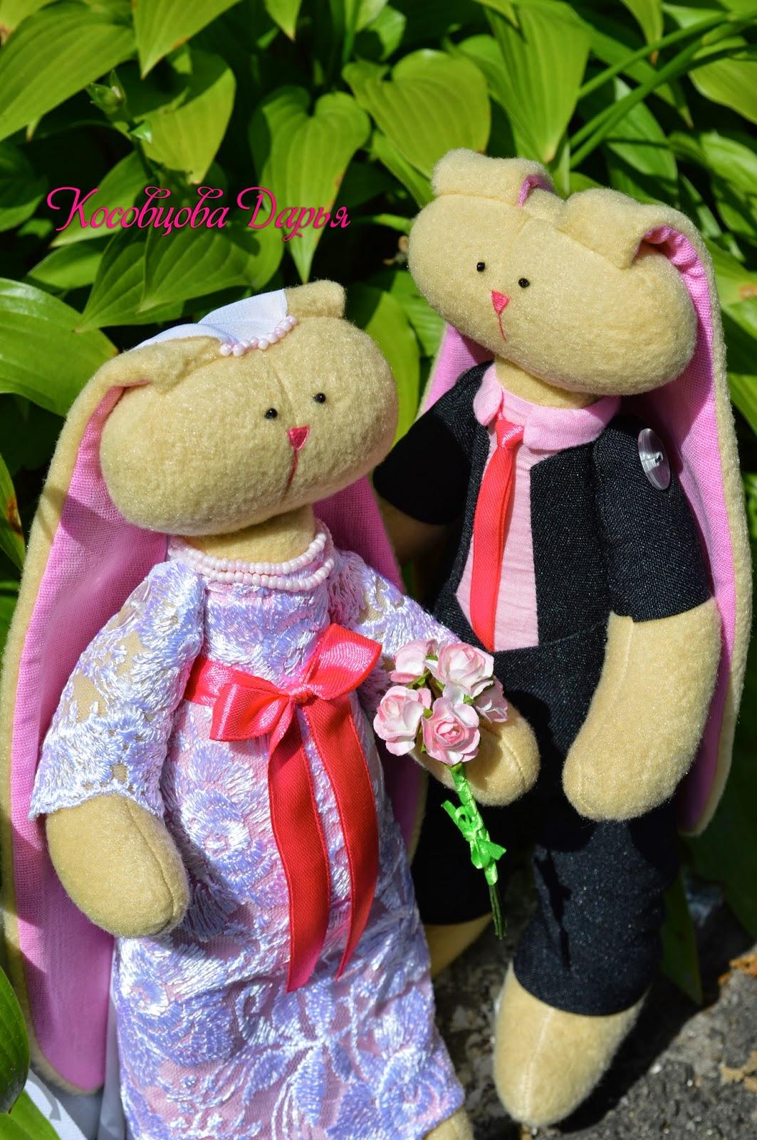 Tilda, ручная работа, игрушки Киев, подарки на день рождения, подарок на свадьбу, свадебные зайчики, купить подарок ручной работы Киев
