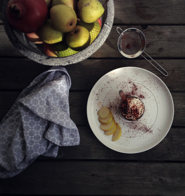 Sund chokolademousse med banan og avokado - mokka eller passionsfrugt - Mit livs kogebog