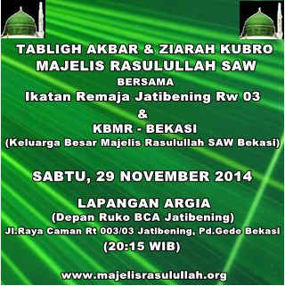 Template Tabligh Akbar