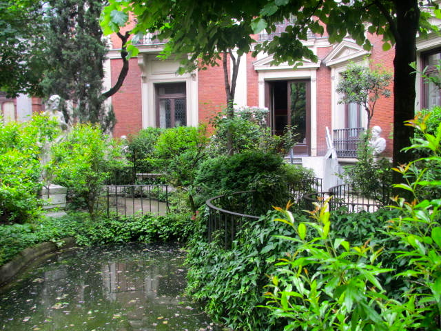 museo Cerralbo garden