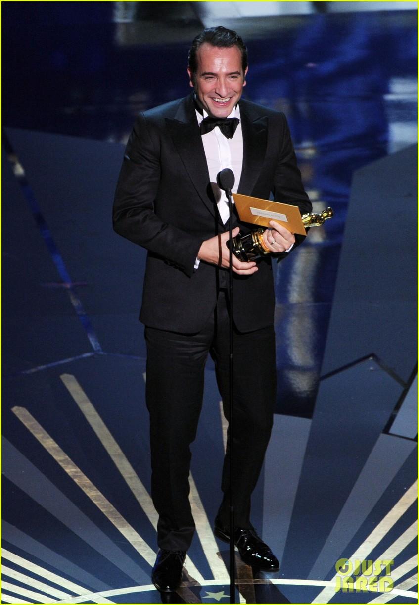 Somewhere i belong oscars 2012 winners for Oscar jean dujardin