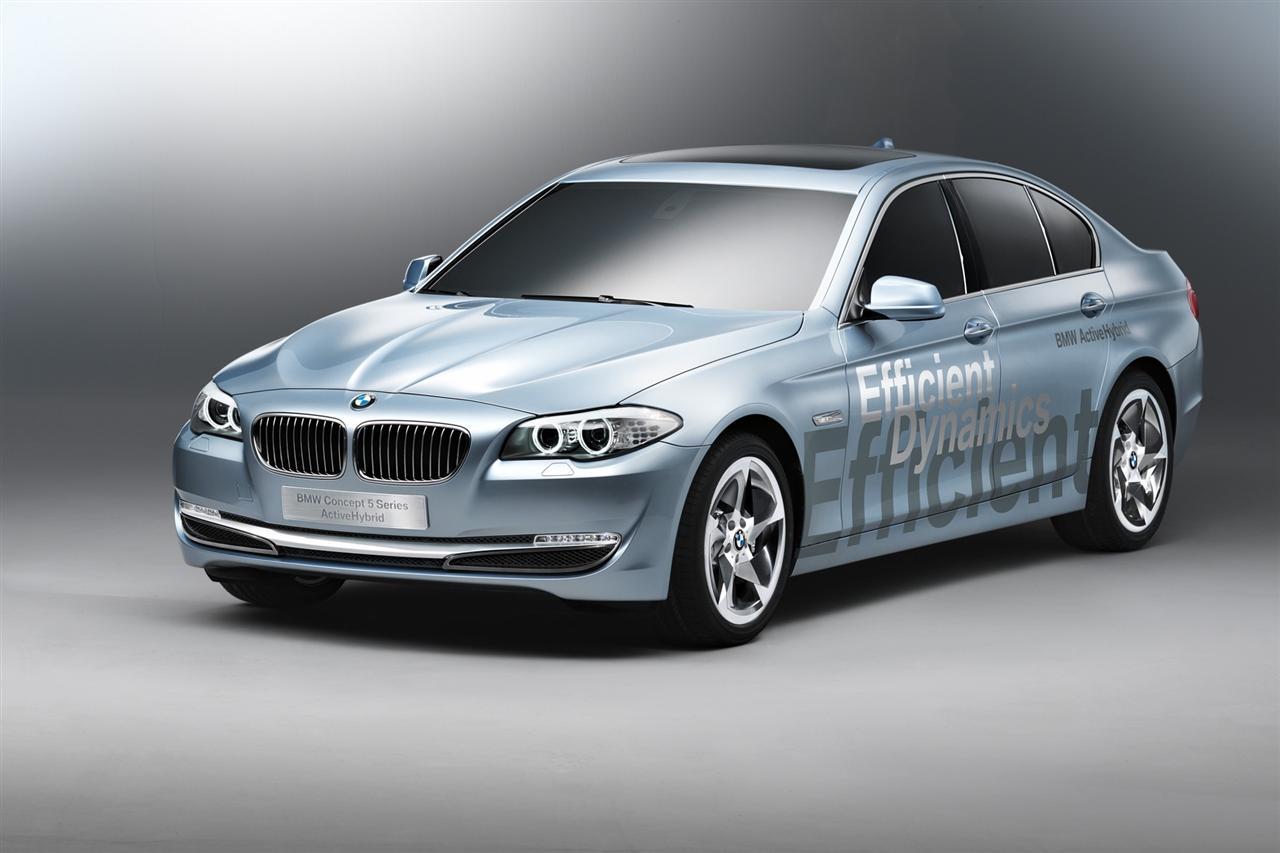2010 BMW 5-Series ActiveHybrid Concept ~ CAR REPORT