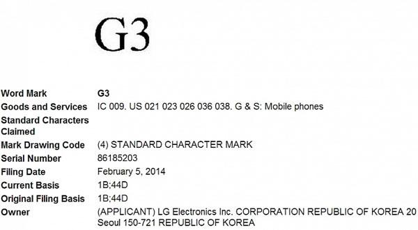 LG Tetapkan Merek G3, Penerus G2