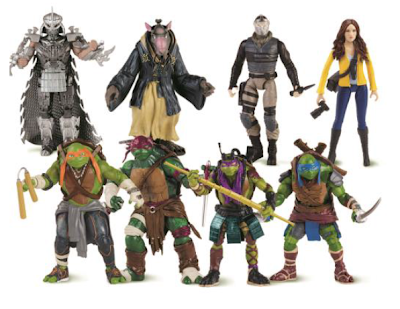 Toys and flair s quot teenage mutant ninja turtles quot movie action figures